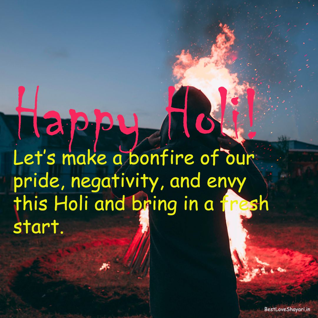 Holi quotes and wishes in English...