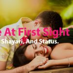 Love at first sight quotes, shayari, and status...